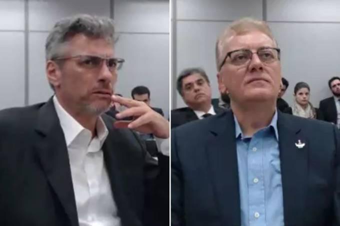 André Gustavo Vieira da Silva e Aldemir Bendine