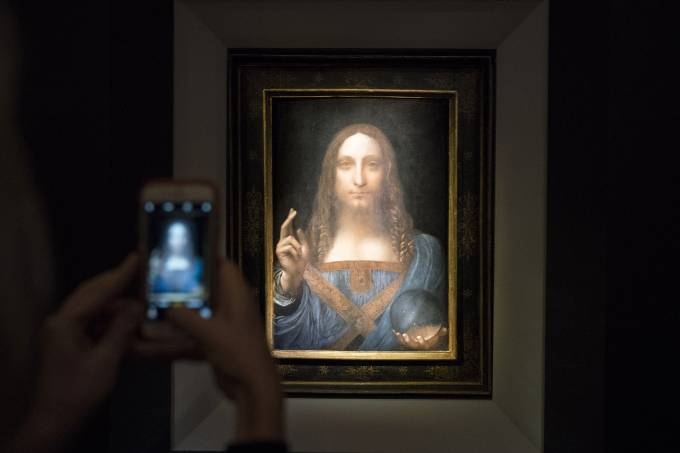Salvator Mundi – de Leonardo da Vinci
