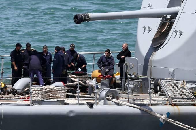 Tentativa de resgate do submarino argentino San Juan
