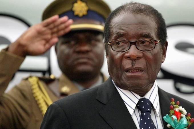 Presidente do Zimbábue, Robert Mugabe, durante evento em Harare