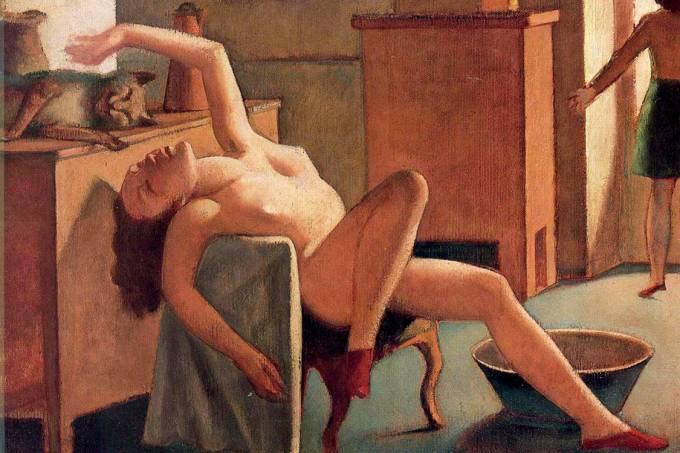 Sem retórica – Nu com Gato (1949), do francês Balthus: erotismo que se oferece ao olhar mas não se deixa dominar