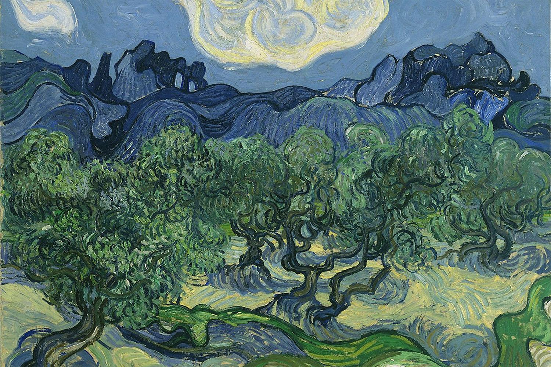 Gafanhoto é encontrado em quadro de Van Gogh
