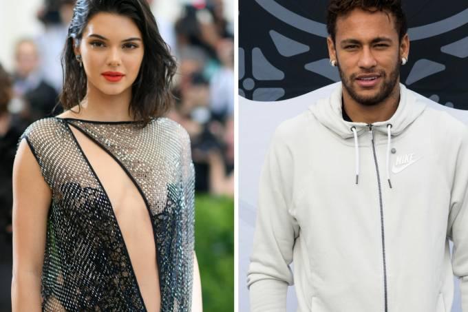Kendall Jenner e Neymar