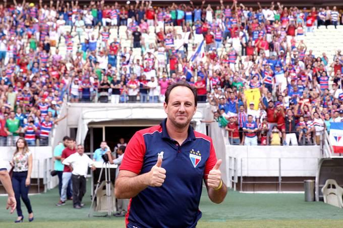 Rogério Ceni é apresentado como técnico do Fortaleza, na Arena Castelão – 15/11/2017