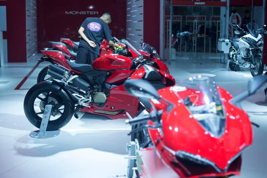 Estande da Ducati