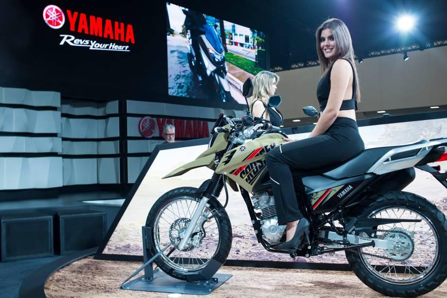 Estande da Yamaha