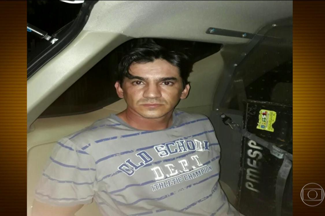 Jonathan Pereira do Prado, suspeito de estar envolvido no assassinato de Kelly Cristina Cadamuro