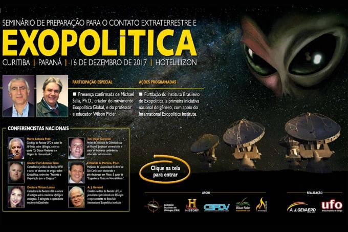 Seminário de Ufologia em Curitiba (PR)