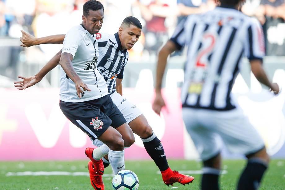 Partida entre Corinthians e Atlético-MG, válida pela 37ª rodada do Campeonato Brasileiro, realizada em São Paulo (SP) - 26/11/2017