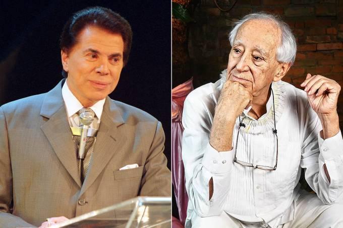 Silvio Santos e Zé Celso