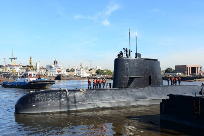 Submarino militar argentino ARA San Juan