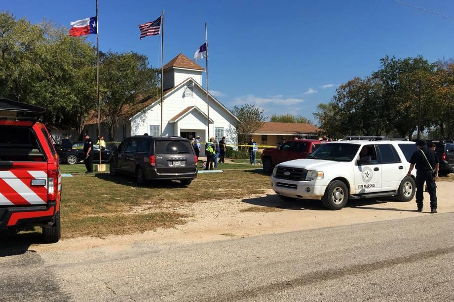 Tiroteio em igreja no Texas neste domingo - 05/11/2017