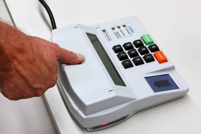 Urna Eletrônica com Biometria