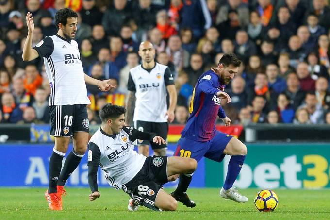 Barcelona empate com Valencia pelo Campeonato Espanhol – 26/11/2017