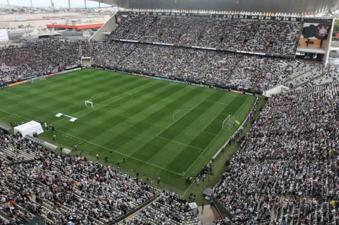 Estádio do Itaquerão lotado