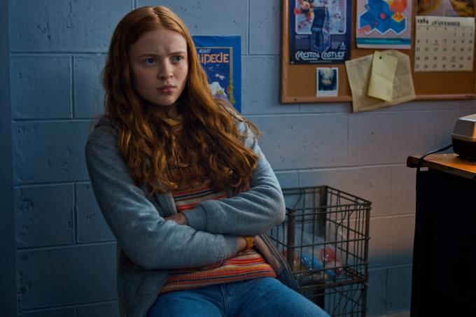 Sadie Sink como Max em 'Stranger Things'