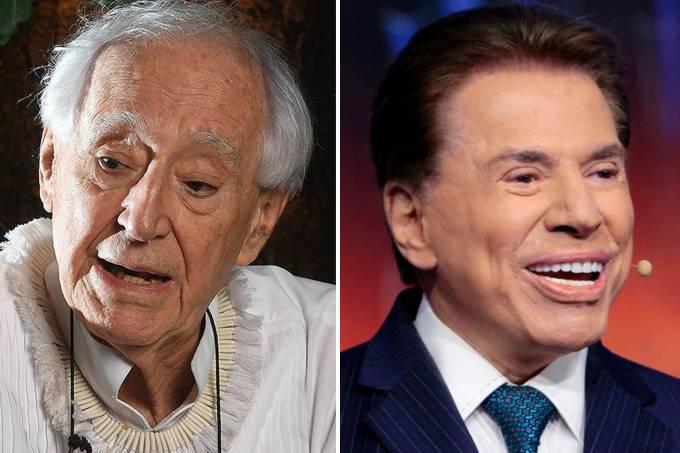 Zé Celso e Silvio Santos