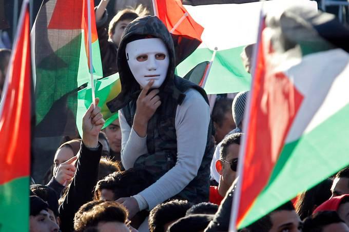 Protesto na Jordânia