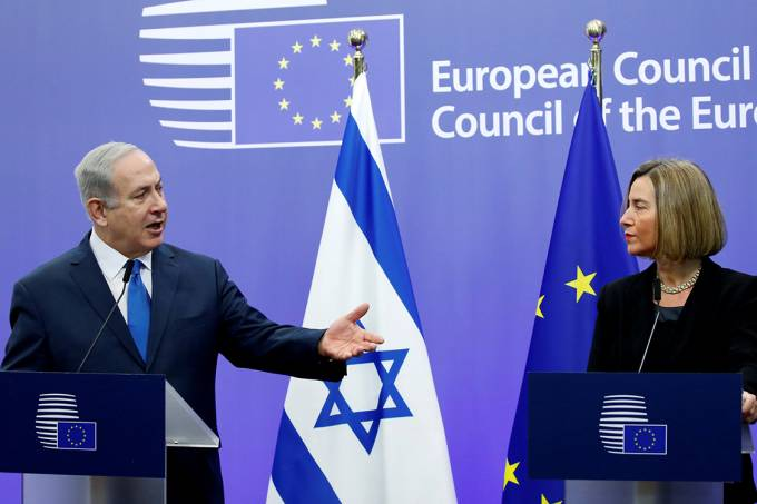 Netanyahu e Mogherini