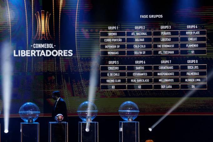 Jogos da Libertadores 2018 – Fase de grupos