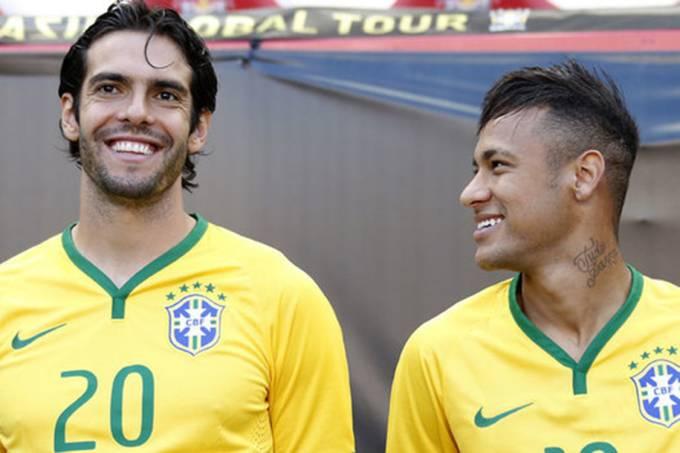 Kaká e Neymar