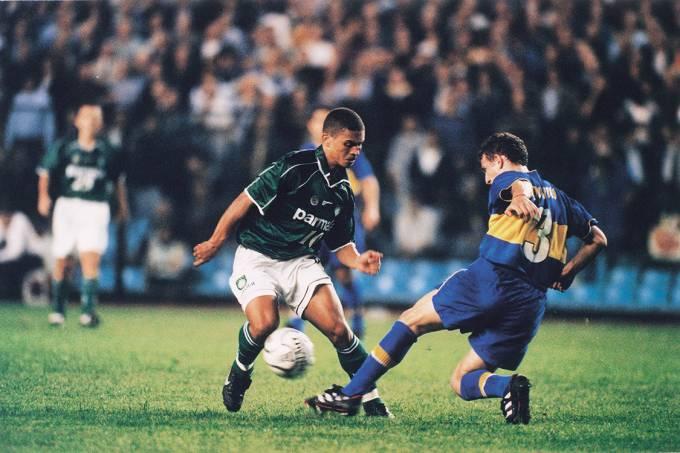 Palmeiras e Boca Juniors, Libertadores 2000