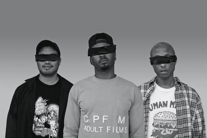 Disco – O trio N.E.R.D.: caleidoscópio de influências que vai do rap ao rock — e até à new wave