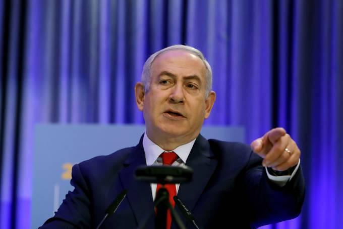 O premiê de Israel, Binyamin Netanyahu