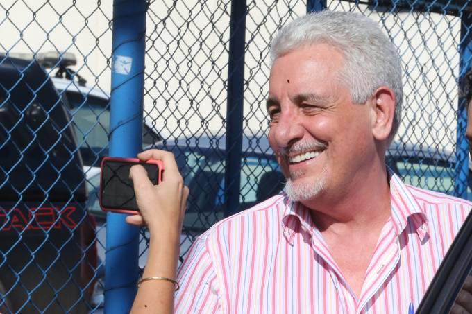 Pizzolato deixa a cadeia em Brasília