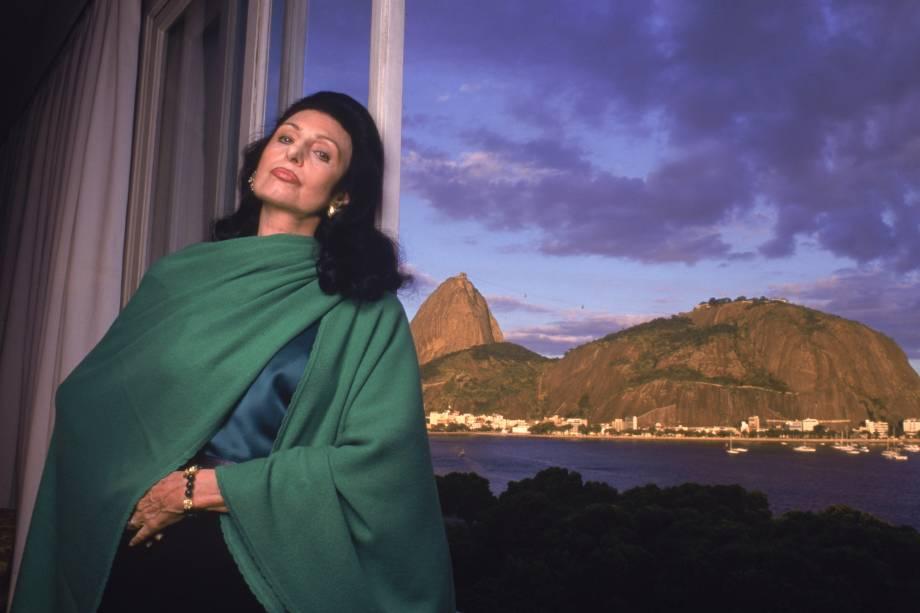 Carmen Mayrink Veiga, socialite carioca