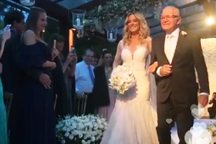 Casamento de Ticiane Pinheiro e César Tralli - 02/12/2017