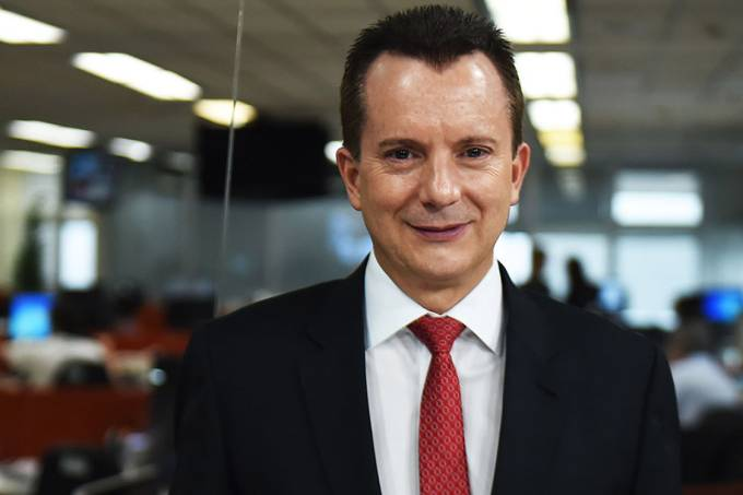 Celso Russomanno, deputado federal PRB-SP, durante entrevista para a TVEJA