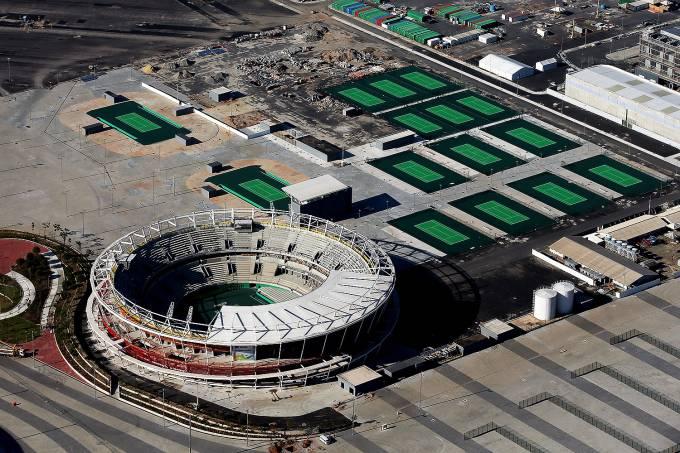 Centro Olímpico de Tênis, no Parque Olímpico da Barra