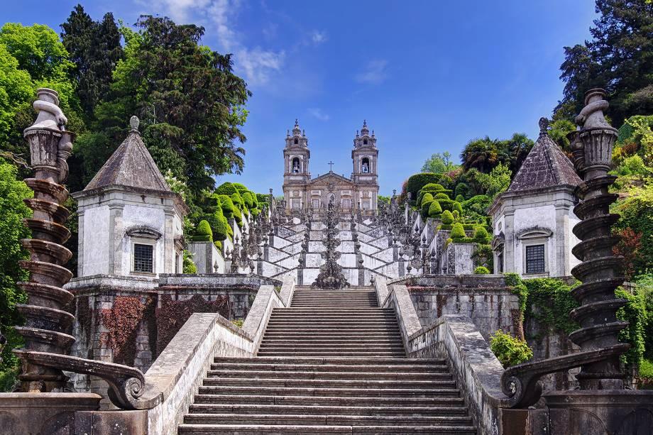 A cidade de Braga em Portugal