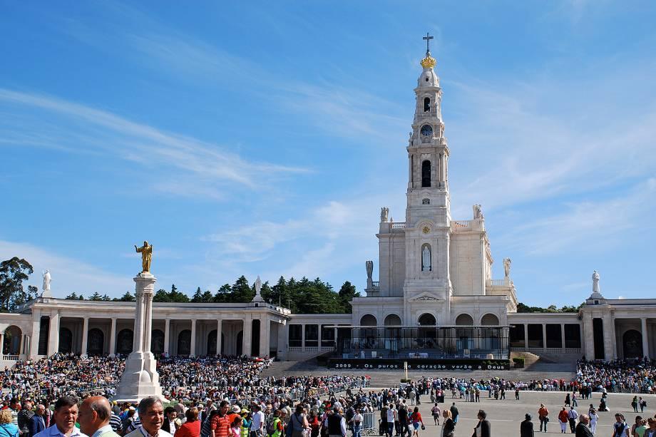 A cidade de Fátima é o principal destino religioso de Portugal