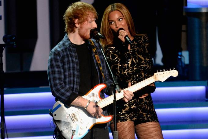 Ed Sheeran e Beyonce