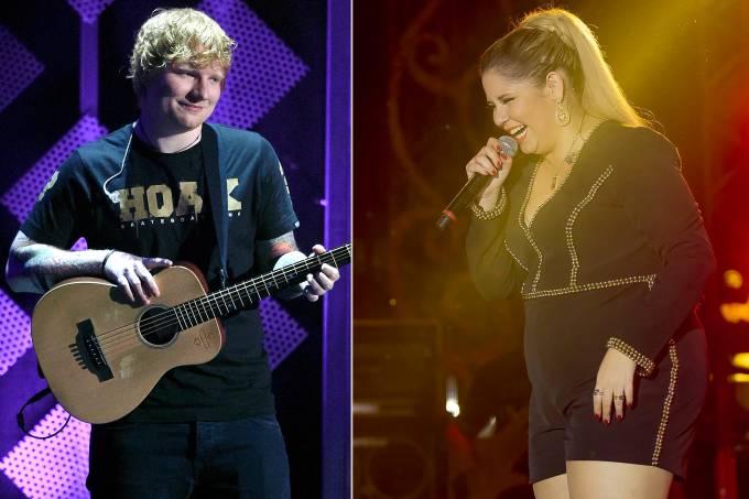 Ed Sheeran e Marília Mendonça