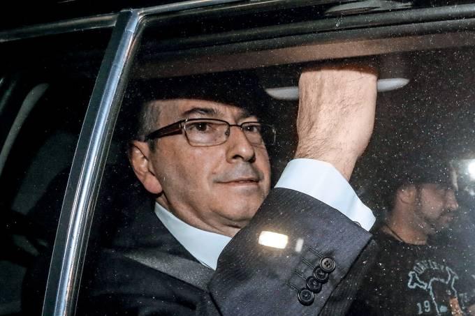 O ex-presidente da Câmara dos Deputadod, Eduardo Cunha