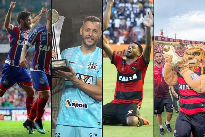 Comemorações de Bahia, Ceará, Sport e Vitória