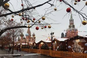 Decorações de Ano Novo na Rússia