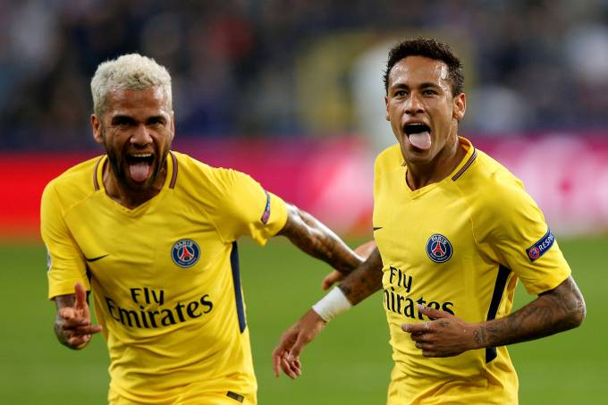 Imagens do ano: Neymar no PSG