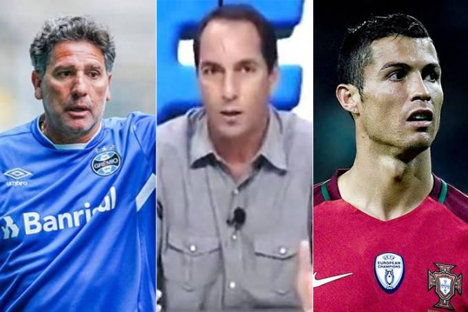 Renato Gaúcho, Edmundo e Cristiano Ronaldo