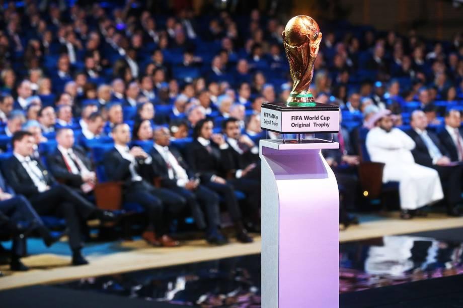 Sorteio dos grupos da Copa do Mundo 2018, no palácio do Kremlin, Rússia - 01/12/2017