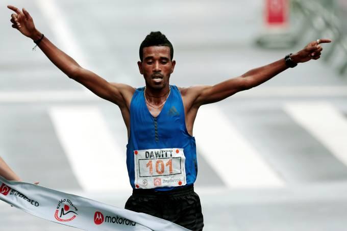 Dawitt Amdasu da Etiópia vence a 93ª São Silvestre