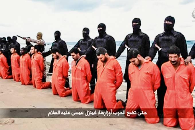 Cristãos mortos pelo Estado Islâmico no Egito