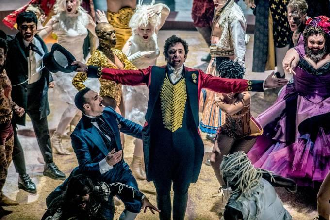 Hugh Jackman no musical O Rei do Show