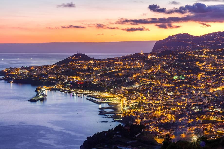 Vista panorâmica do Funchal, Madeira, Portugal
