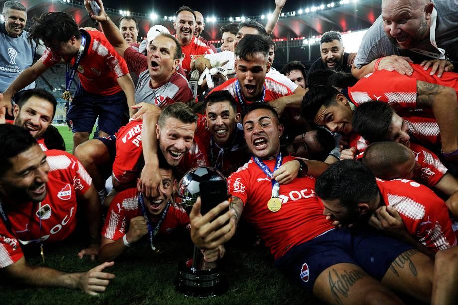 O Independiente empatou por 1 a 1 com o Flamengo e se consagrou bicampeonato da Copa Sul-Americana de 2017