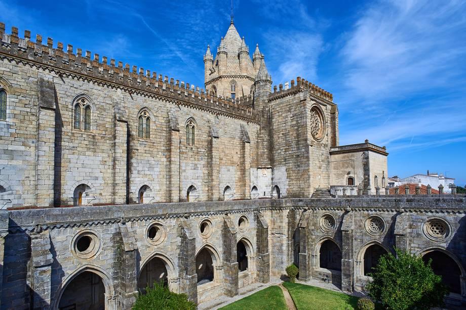 A cidade de Évora em Portugal