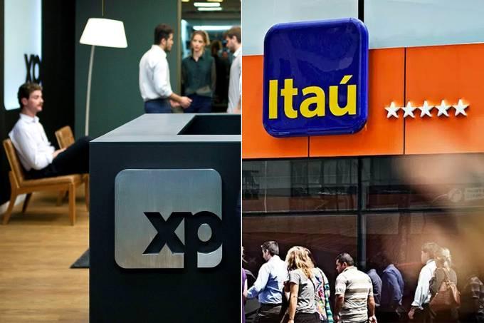 XP Investimentos e Banco Itaú